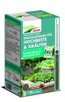 organisch- mineralischer Spezialdünger für Hochbeete & Kräuter