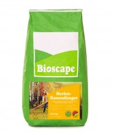 BIOSCAPE Herbst-Rasendünger